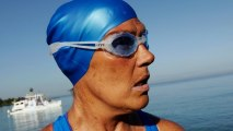 Diana Nyad, 64, Successfully Swims from Cuba to Florida