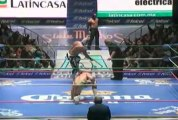 Hiroshi Tanahashi vs La Sombra (CMLL)