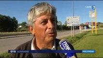 France 3 Lorraine - Conférence de presse de l'UDESR pour une véritable politique de mobilité dans le Sud Meurthe-et-Moselle