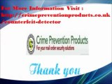 Personal Alarms, Rape Alarms, Home Security, Counterfeit Detection, - Crime Prevention Products