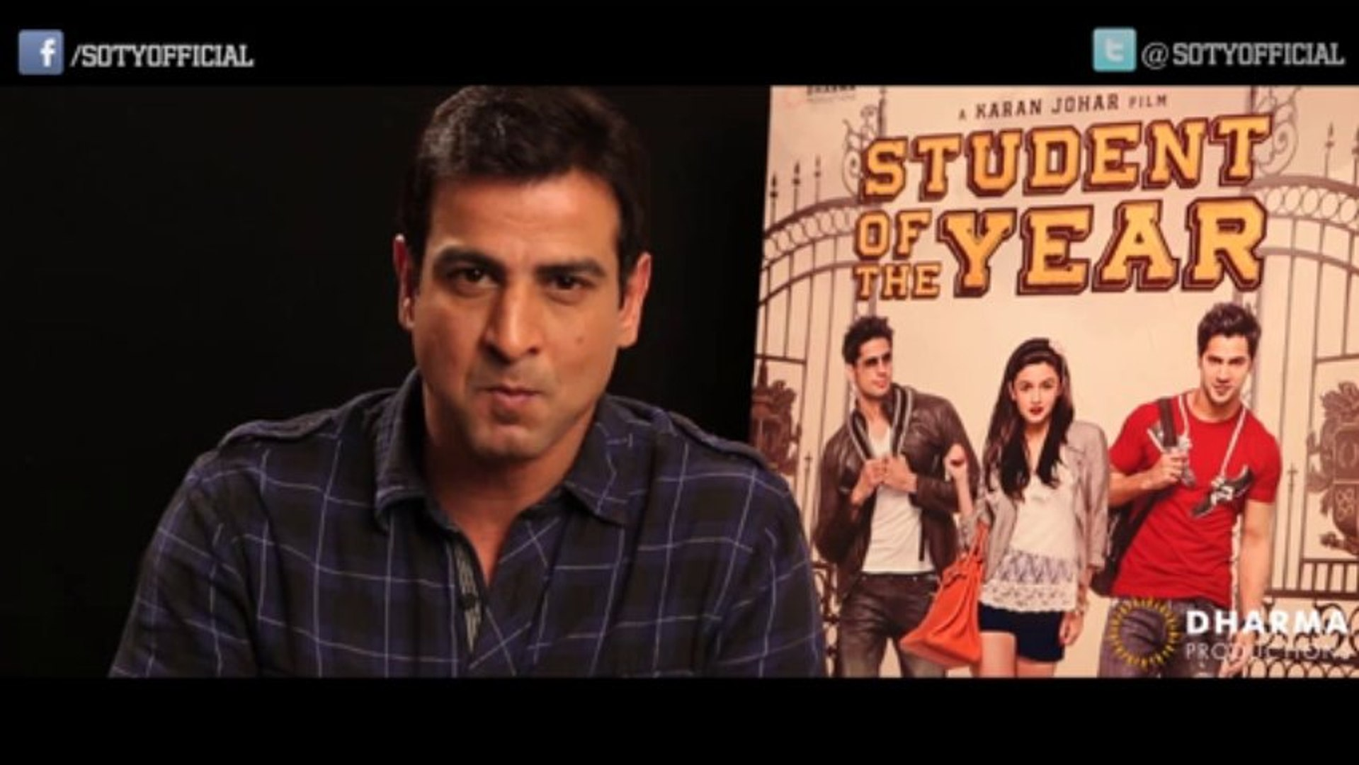 Ronit Roy's Invite - youtube.com/DharmaMovies - Student Of The Year | HQ