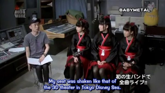 [English sub] BABYMETAL interview on Hot Wave
