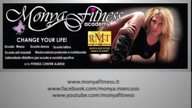Monya Fitness Academy Aerobica, Step, Spinning, Fit-boxe, Gag e tonificazione generale, Stretching