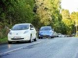 Rassemblement sans précédent de véhicules électriques en Norvège