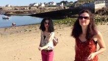 Bretagne Morbihan : plage petit matin