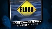 Flood Damage Insurance Repairs Edinburgh, Fire and Flood Restoration Contractors  0131 476 2122