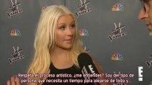 Christina Aguilera - Entrevista E! Premier The Voice 4 (Subtítulos español)