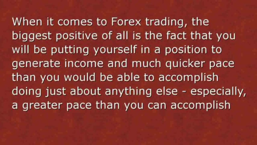 Forex Trading For Making Money From Home