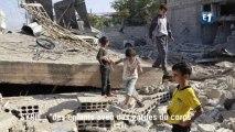 """Syrie : """"des enfants avec leurs gardes du corps"""""""