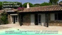 A VENDRE VILLA à SAINTE-MAXIME avec PISCINE - Golf LA NARTELLE - agence sainte-maxime