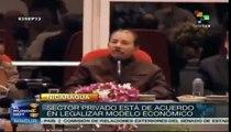 Busca gobierno de Nicaragua institucionalizar alianzas políticas