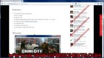 Crime City Golds Hack Free - Crime City Cheats