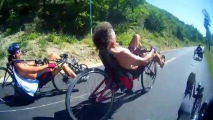Vélos couchés à traction