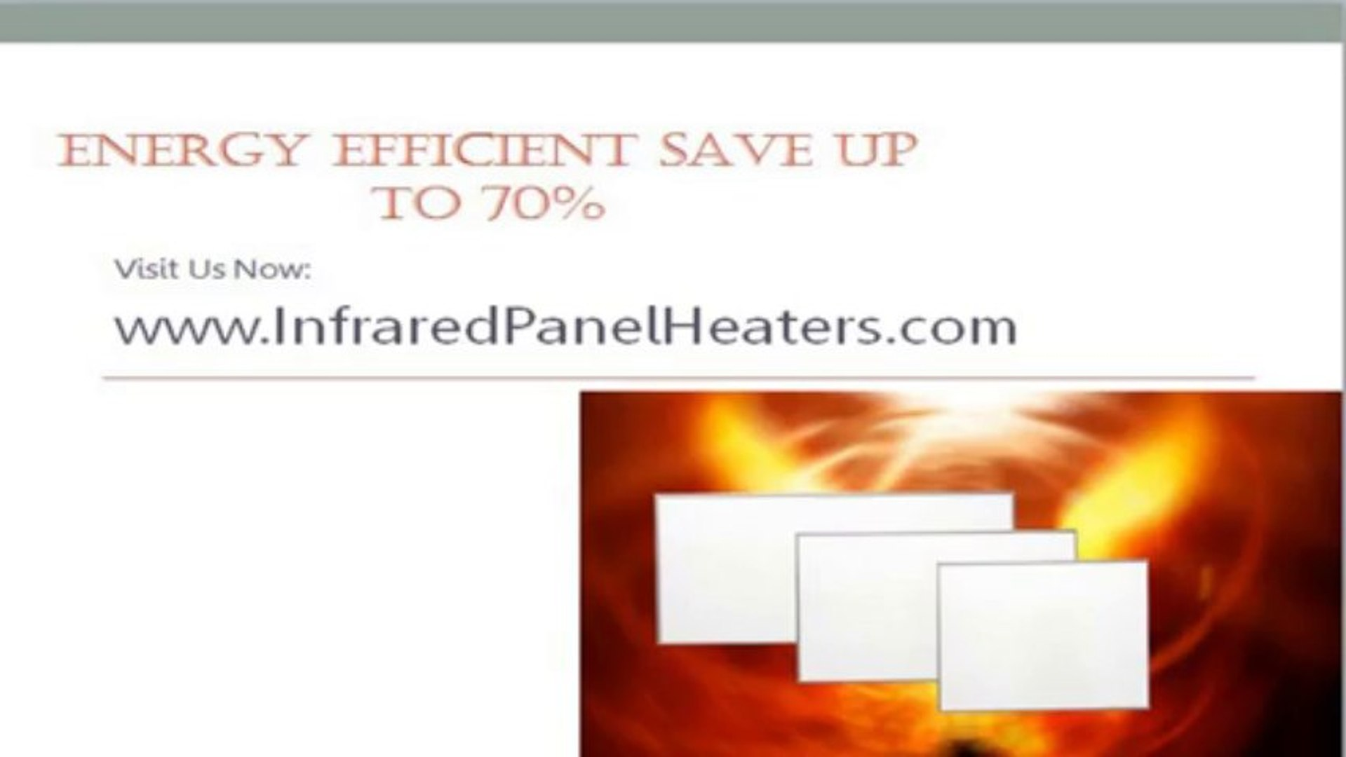 Infrared Panel Heaters:Energy Efficient Electric Heaters infrared panel heaters