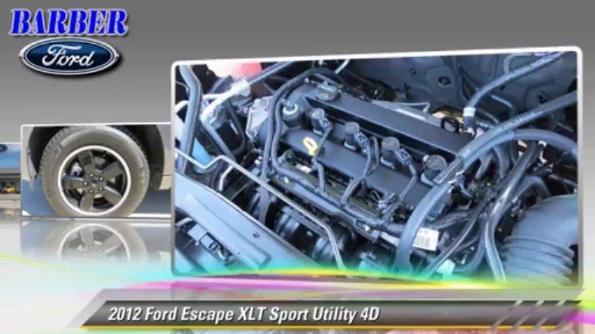 2012 Ford Escape XLT – Barber Ford, Ventura