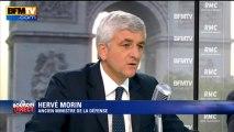 """Hervé Morin: """"Il faut des preuves avant d'intervenir"""" en Syrie - 06/09"""