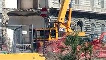 Napoli - Riviera di Chiaia, paura per una fuga di gas (05.09.13)