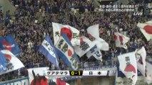 キリンチャレンジカップ 2013 日本代表×グアテマラ代表 後半 4 分・長友からのボールを本田圭佑がヘディングシュートを決め先制!