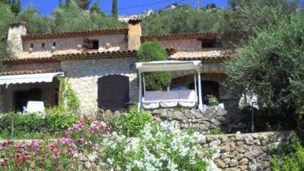 Maison provençale à Vendre à Cabris - Vue mer panoramique - Piscine - 150m² sur terrain 2160m²