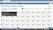 Hadoop Tutorial: how to create example tables in HBase