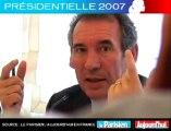 Présidentielle 2007 - Bayrou face aux lecteurs du Parisien: Trop de profs à l'Education nationale ?
