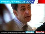 Présidentielle 2007 - Sarkozy face aux lecteurs du Parisien : Quelle saveur a le soutien d'un homme , en l'occurrence Jacques Chirac,  quand on l'a trahi ?