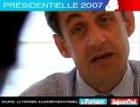 Présidentielle 2007 - Sarkozy face aux lecteurs du Parisien : Pourquoi ne voit-on plus Cécilia ?