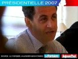Présidentielle 2007 - Sarkozy face aux lecteurs du Parisien : Si vous êtes élus, que ferez-vous à l'issue du mandat ?