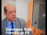 Georges Sali (PS): son programme pour Saint-Denis (4/4)