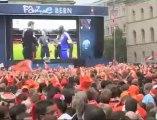 A Berne, la détresse des supporters français