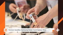 Verizon Bundles Samsung Note 3 And Galaxy Gear
