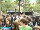 Les médaillés s'offrent les Champs-Elysées