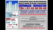 CHAUFFE EAU ELECTRIQUE - 0142460048 - SAV DÉPANNAGE REPARATION PARIS IDF BALLON D'EAU CHAUDE