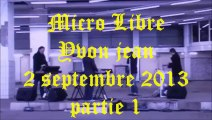 Noire musique et poésie - 22 - Micro Libre Yvon Jean # 3