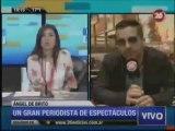 Angel De Brito en Canal 26: la farándula, por qué su fue de Intratables, las propuestas y la Tv que se viene