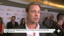 Brad Pitt Debuts His Film 12 Years A Slave At Toronto Festival