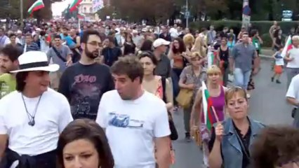 Protests against cronyism in Bulgaria
