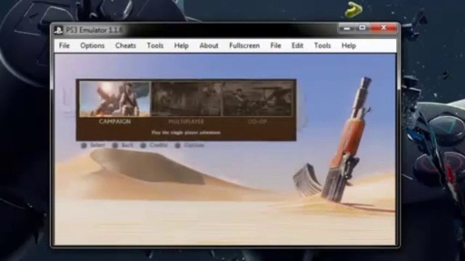 PS3 Emulator For PC Download 2013 for Windows