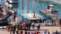 Le bateau-restaurant «Le Marseillois» coule dans le Vieux Port à Marseille