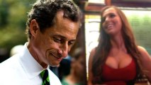 Anthony Weiner Flips the Bird and Parties with Sydney Leathers
