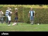 Papin et Guérin, du football au... footgolf