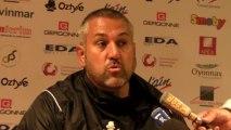 Rugby Top 14 - Christophe Urios après Oyonnax - Castres (1ère partie)