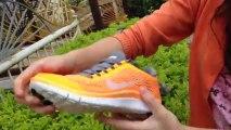 L'entraînement Nike Free 3.0 V5 femmes Chaussures de course Orange Gris examen lunettesshopfr.cn