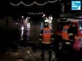 Cinquante centimètres d'eau dans des rues de Fourmies