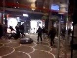 Incidents violents entre supporteurs rue de Béthune à Lille, en marge du match PSV Eindhoven-Lille (LOSC)