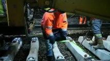 Phalempin : chantier de modernisation des voies ferrées