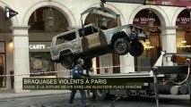 Braquage à la voiture bélier près de la place Vendôme à Paris