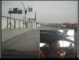 Croix-en-Ternois : sur la piste élargie du circuit à bord d'une Ferrari F430 avec Patrick D'Aubreby comme pilote !