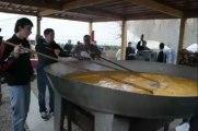 Aulnoye-Aymeries : une omelette géante au salon des saveurs