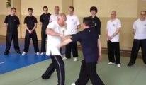 Stage de Roger Itier, maître de kung-fu